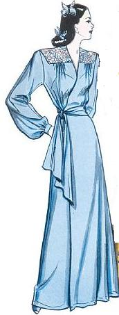 misses 1943 robe historical roleplaying costume