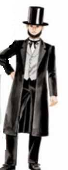 abraham lincoln historical roleplaying costume
