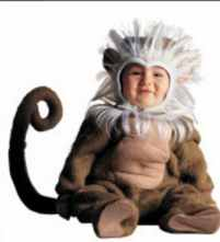 baby baboon halloween animal roleplaying fantasy costume