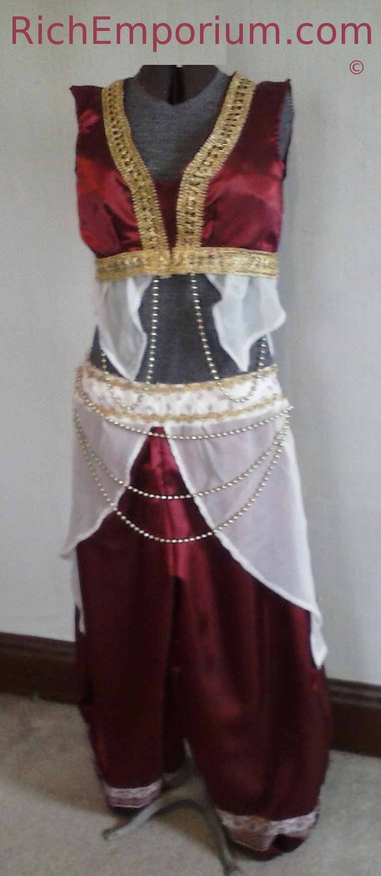 Samia Gamal Belly dancer costume The National Dancer of Egypt