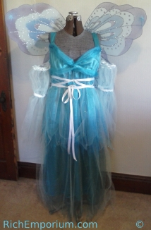 blue fairy pinocchio roleplaying fantasy costume