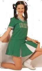 cheerleader roleplaying fantasy costume
