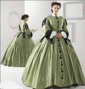 Clara Barton Historical Roleplaying Reenactment Costume from Imagine ...