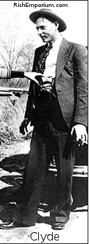 Clyde Barrow costume for Bonnie-and-Clyde