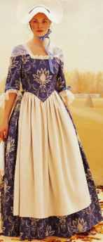 miss colonial daydress historical roleplaying costume