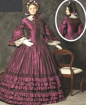 miss daydress civil war 1864 historical roleplaying fantasy costume