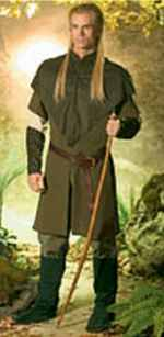 mens elf knight dress tunic roleplaying fantasy costume