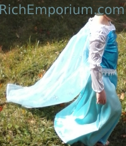 elsa frozen roleplaying costume