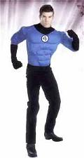 mr. fantastic four mens roleplaying cosplay costume