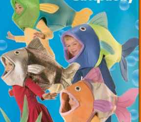 fish kid child fantasy roleplaying halloween costume