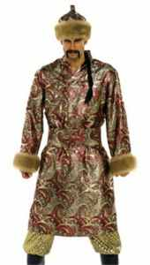 ghengis khan mongol historical roleplaying costume
