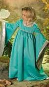 medieval princess girl roleplaying costume
