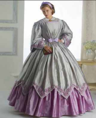 julia ward howe historical roleplaying reenactment costume