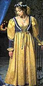 Miss Juliet historical roleplaying fantasy costume of Romeo and Juliet