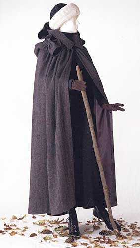 ladies kinsale cloak traditional roleplaying historical costume