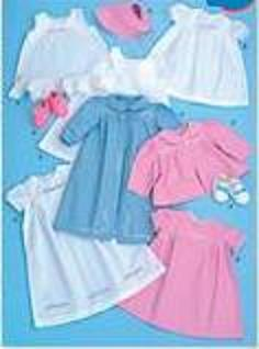 infant baby layette 1940 historical clothing