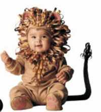 infant toddler lion roleplaying fantasy costume