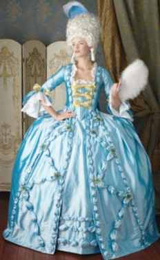 marie antoinette ballgown historical roleplaying fantasy costume