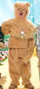 wizard of oz cowardly lion fantasy roleplaying costume