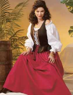 miss pirate wench historical roleplaying fantasy costume