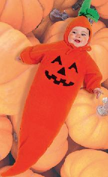 pumpkin baby halloween roleplaying infant costume