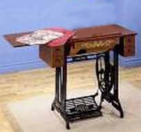 sewing machine cabinet treadle